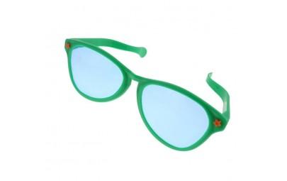 Okulary Jumbo zielone