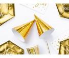 Czapeczka gwiazdki złota 16cm 6szt