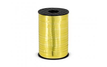 Wstążka plastikowa złota...