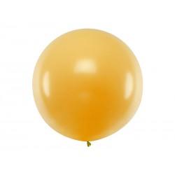 Balon 1M złoty metalik