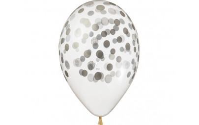 Balon transparentny...