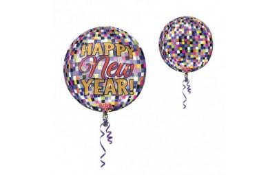 Balon foliowy orbz kula disco