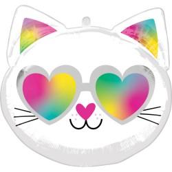 Balon foliowy cool kitty...