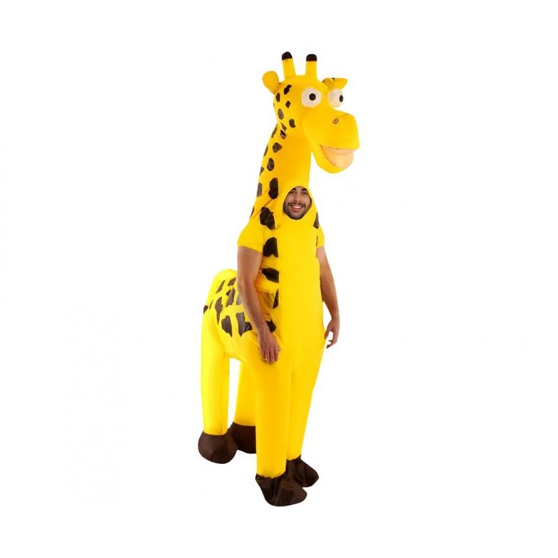 Strój nadmuchiwany Żyrafa