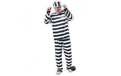 Strój dla dorosłych Więzień...