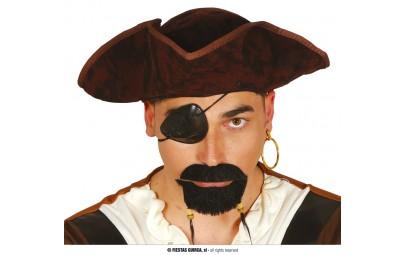 Wąsy i broda pirata
