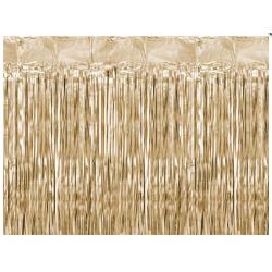 Kurtyna party złota 90x250cm