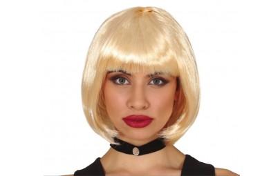 Peruka bob blond
