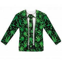 T-shirt z nadrukiem Pan...