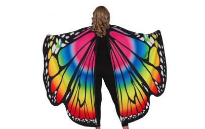 Skrzydła motyla kolorowe...