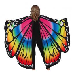 Skrzydła motyla kolorowe 160x130 cm