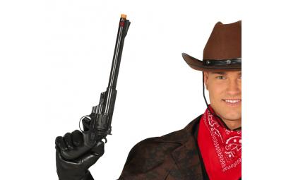 Pistolet z długą lufą 43cm