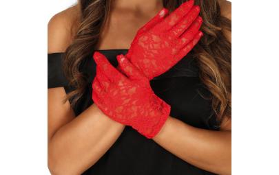 Rękawiczki koronkowe...