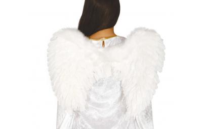 Skrzydła anielskie białe...