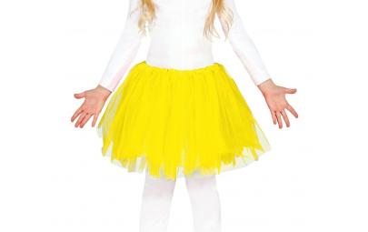 Spódniczka TUTU żółta 30 cm