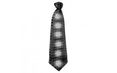 Krawat świecący z cekinami...