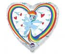 """Balon foliowy 18"""" My little Pony chmurki"""