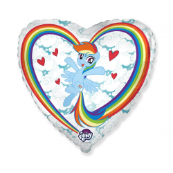 "Balon foliowy 18"" My little Pony chmurki"
