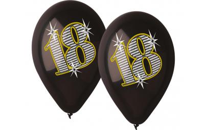 """Balon 12"""" premium czarne..."""