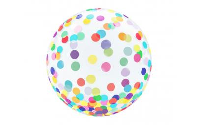 """Balon 18"""" kryształowy..."""