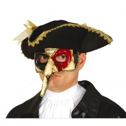 Maska wenecka dekorowana z...