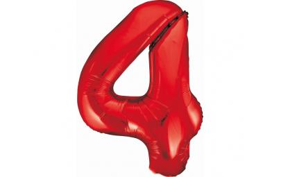 """Balon foliowy 36""""cyfra 4..."""
