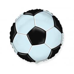 "Balon foliowy 18""FX-Football-piłka czarna"
