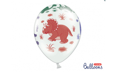 Balony 30cm, Dinozaury,...