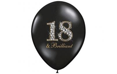 Balon 30cm 18 & brilliant...