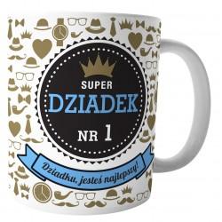 """Kubek """"Super Dziadek Nr 1"""""""