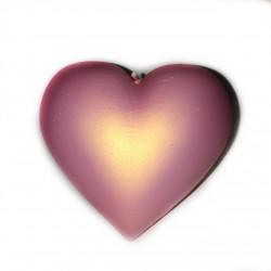 Świeca serce jasny różowy...