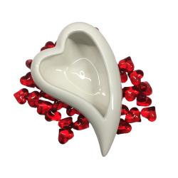 Serce ceramiczne 14,5x10,5cm