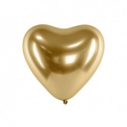 Balon 30cm Glossy złote...
