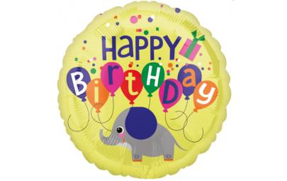 """Balon foliowy 18"""" Happy..."""