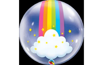 Balon 24' Tęczowe chmury