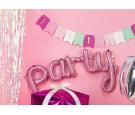 Balon foliowy Party różowy 40x80cm