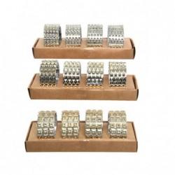 Pierścień na serwetki złoty 4,8x2,5x5cm 4szt
