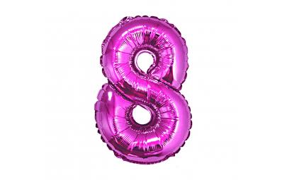 Balon foliowy cyfra 8...