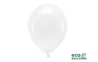 Balon eco 30cm pastel biały...