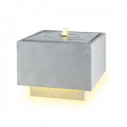 Fontanna kwadratowa z podświetleniem led 43x43x33cm