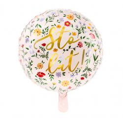 """Balon foliowy"""" Sto lat..."""