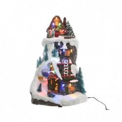 Miasteczko świąteczne led 22x21,5x37cm