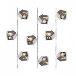 Lampki domki 20 led wewnętrzne ciepły biały 380cm