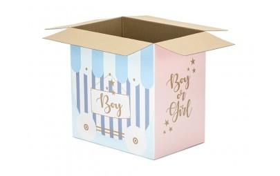 Karton do poczty balonowej Boy or Girl