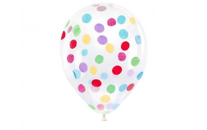 Balon 30cm przezroczysty z...