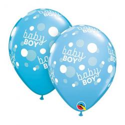 """Balon 11""""Baby boy niebieski..."""