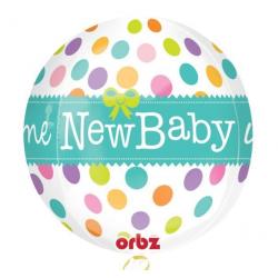 Balon orbz New Baby 43x45cm