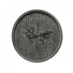 Zegar żelazny z mapą 48cm