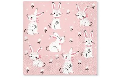 Serwetka Field of rabbits...