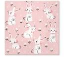 Serwetka Field of rabbits 33x33cm 20szt